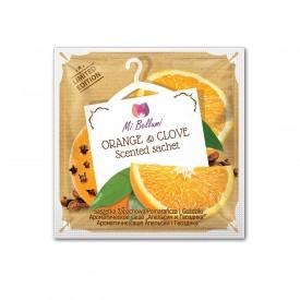 Ароматическое саше для дома с ароматом апельсина и гвоздики