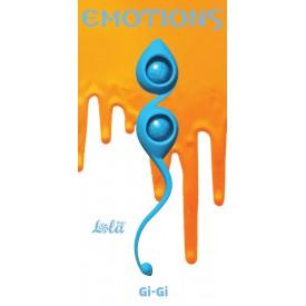 Голубые вагинальные шарики Emotions Gi-Gi
